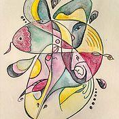 Картины и панно handmade. Livemaster - original item Watercolor abstraction. Handmade.