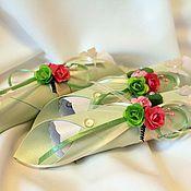 Свадебный салон ручной работы. Ярмарка Мастеров - ручная работа Приглашение свиток (арт. 0009). Handmade.