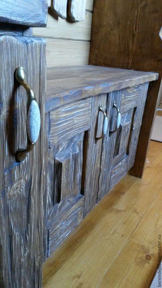 Мебель ручной работы. Ярмарка Мастеров - ручная работа. Купить Прихожая. Handmade. Коричневый, бронза