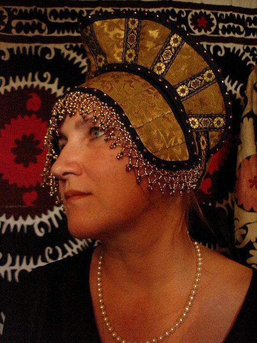 Этническая одежда ручной работы. Ярмарка Мастеров - ручная работа. Купить Кокошник  малый. Handmade. Русский народный костюм, бисер