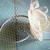 Свадебный салон ручной работы. Ярмарка Мастеров - ручная работа Вуалетка цвета айвори.. Handmade.