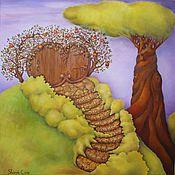 Картины и панно ручной работы. Ярмарка Мастеров - ручная работа Путь в сказочный мир. Handmade.