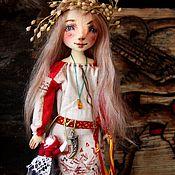 Куклы и игрушки ручной работы. Ярмарка Мастеров - ручная работа Алинка. Авторская текстильная кукла. Handmade.