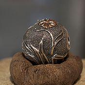 Материалы для творчества handmade. Livemaster - original item Leaves charm. Handmade.