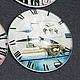 Для украшений ручной работы. Ярмарка Мастеров - ручная работа. Купить Кабошон Часики №44 (25мм). Handmade. Материалы для украшений