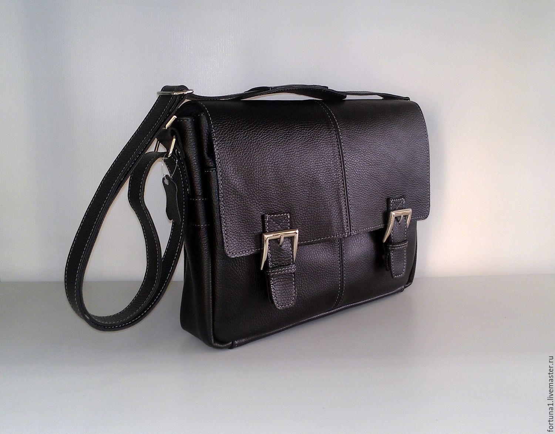 Bag leather 'Men's', Men\'s bag, St. Petersburg,  Фото №1