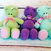 Куклы и игрушки ручной работы. Ярмарка Мастеров - ручная работа Мишка 25 см. Handmade.
