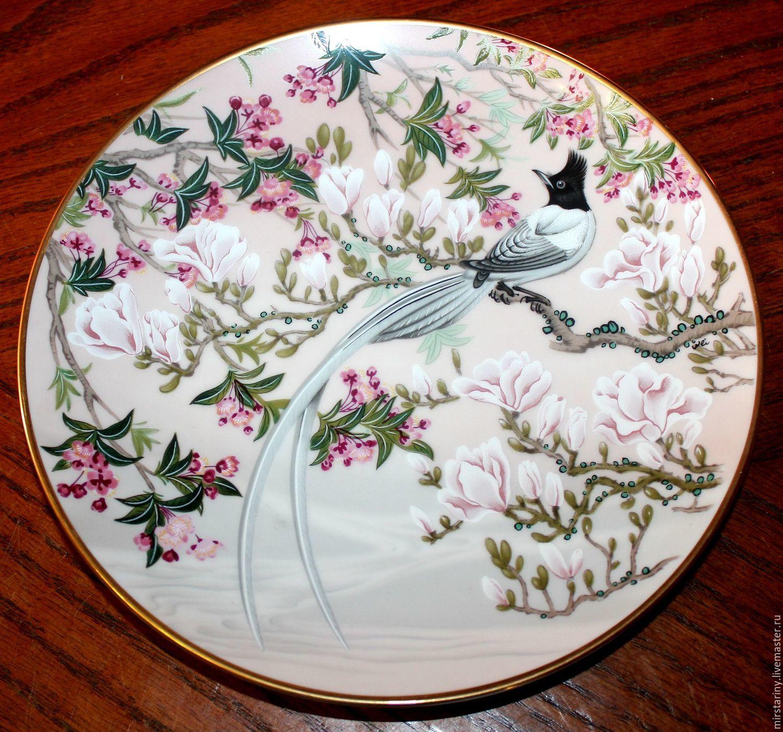 Decorative plates \u0027Birds and flowers of China\u0027 Japan ... & Decorative plates \