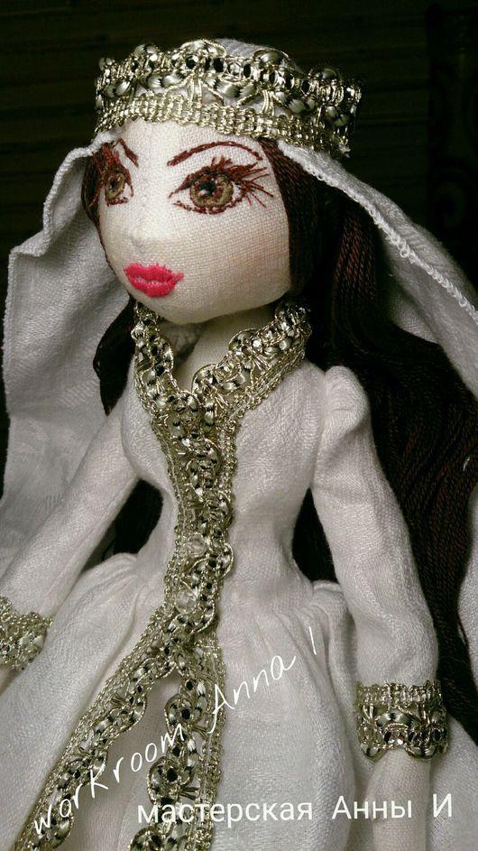 Коллекционные куклы ручной работы. Ярмарка Мастеров - ручная работа. Купить Кукла текстильная. Кукла интерьерная игровая.. Handmade. кукла