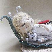 Куклы и игрушки ручной работы. Ярмарка Мастеров - ручная работа Когда солнышко спит.... Handmade.