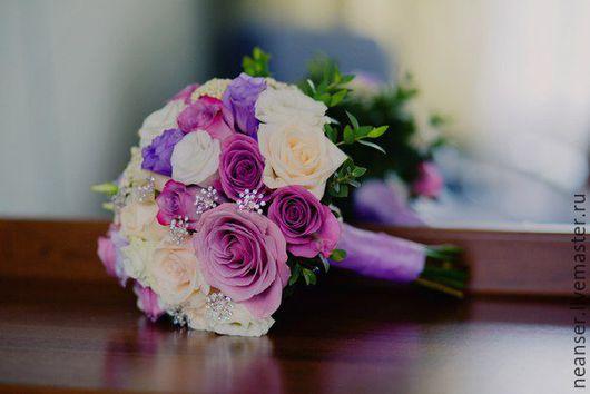Свадебные цветы ручной работы. Ярмарка Мастеров - ручная работа. Купить Букет невесты вашей мечты!. Handmade. Разноцветный, флористика