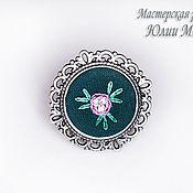 Украшения handmade. Livemaster - original item Copy of Copy of Embroidered cufflinks Murgel. Handmade.