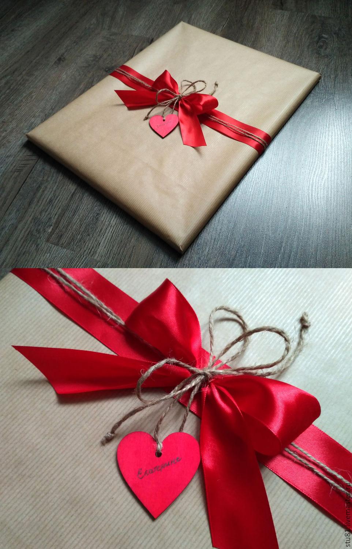 Как обернуть коробку с подарком
