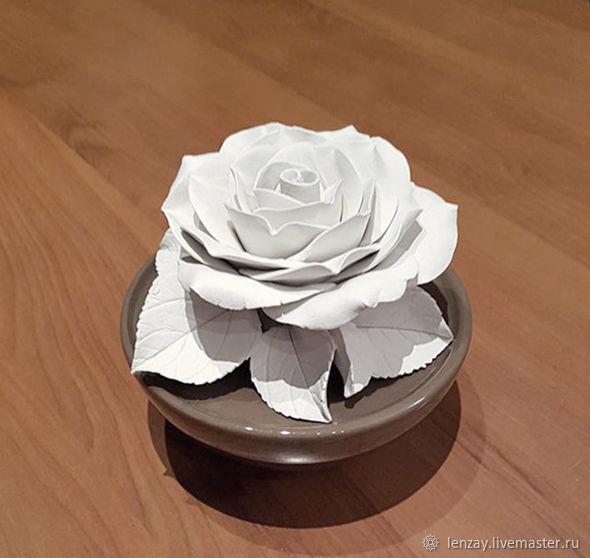 Белая роза для аромадиффузора, Ароматический диффузор, Москва,  Фото №1
