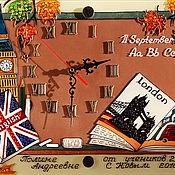 Для дома и интерьера ручной работы. Ярмарка Мастеров - ручная работа Часы учителю английского языка. Handmade.