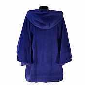 Одежда handmade. Livemaster - original item Coats cashmere zipper hooded. Handmade.