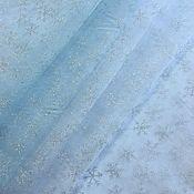 """Ткани ручной работы. Ярмарка Мастеров - ручная работа Органза """"Снежинка"""" 2 цвета. Handmade."""