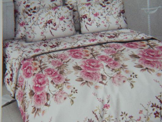 """Текстиль, ковры ручной работы. Ярмарка Мастеров - ручная работа. Купить Постельное белье из бязи """"Розовая нежность"""". Handmade. Розовый"""