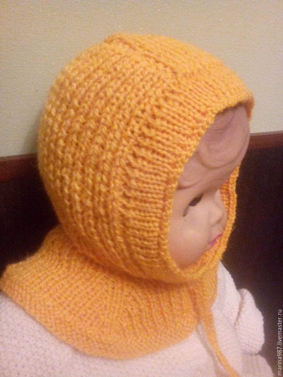 Шлем шапка детская мастер класс инструкция #4