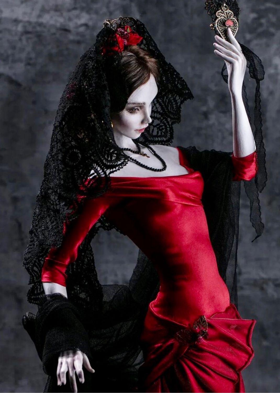 Кукла на заказ «Фламенко», Портретная кукла, Москва,  Фото №1