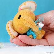 Куклы и игрушки ручной работы. Ярмарка Мастеров - ручная работа Миниатюрный слоник  - подарок!. Handmade.