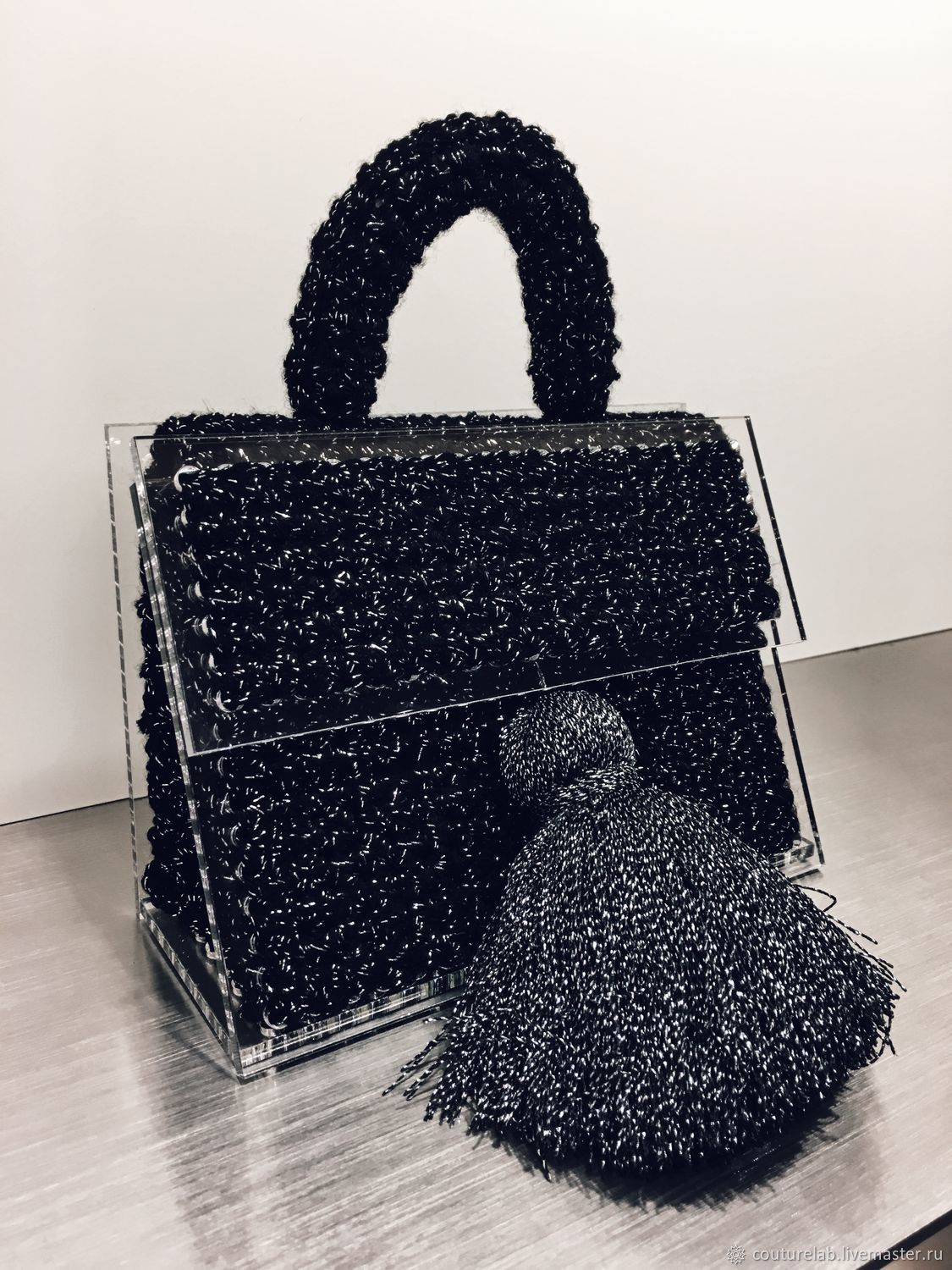stylish bag on the way out shapar shop online on livemaster with
