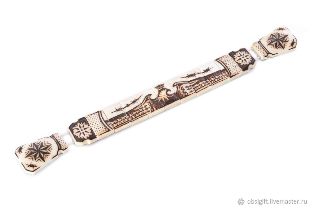 Rosary rocker 'King' bone, Eagles To, Rosary, St. Petersburg,  Фото №1