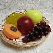 """Косметика ручной работы. Ярмарка Мастеров - ручная работа Набор """"Тарелка с фруктами"""". Handmade."""