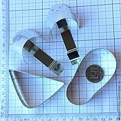 Материалы для творчества ручной работы. Ярмарка Мастеров - ручная работа Тапочек малый 3D. Резак, каттер, формочка, вырубка. Handmade.
