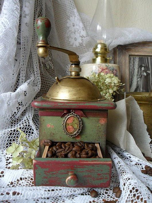 """Кухня ручной работы. Ярмарка Мастеров - ручная работа. Купить Кофемолка """"Гретта"""". Handmade. Кофемолка, дерево"""