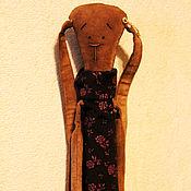 Куклы и игрушки ручной работы. Ярмарка Мастеров - ручная работа Зайка с сумочкой. Handmade.