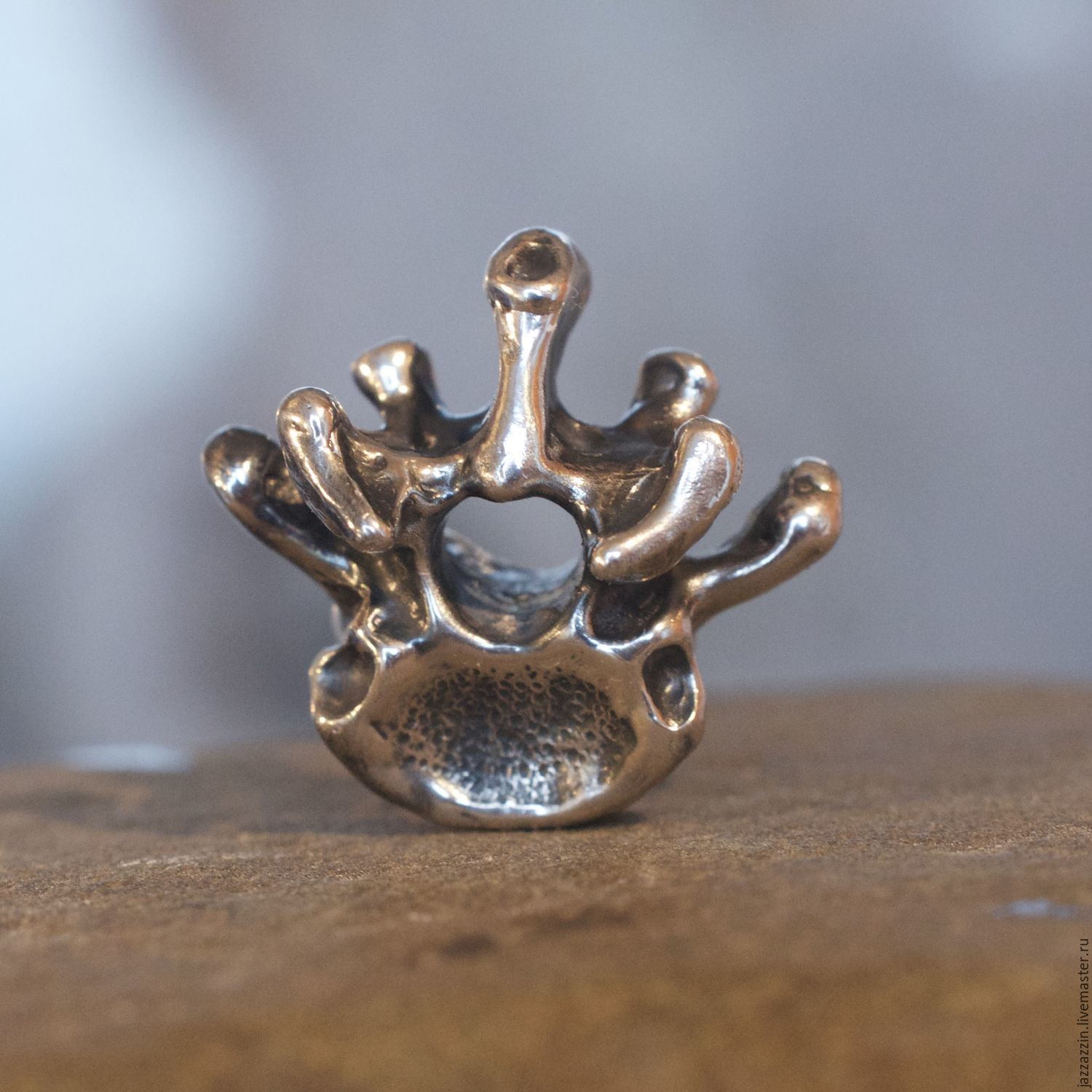 All for Jewelry Making handmade. Livemaster - handmade. Buy Vertebra charm.Charm, trollbeads
