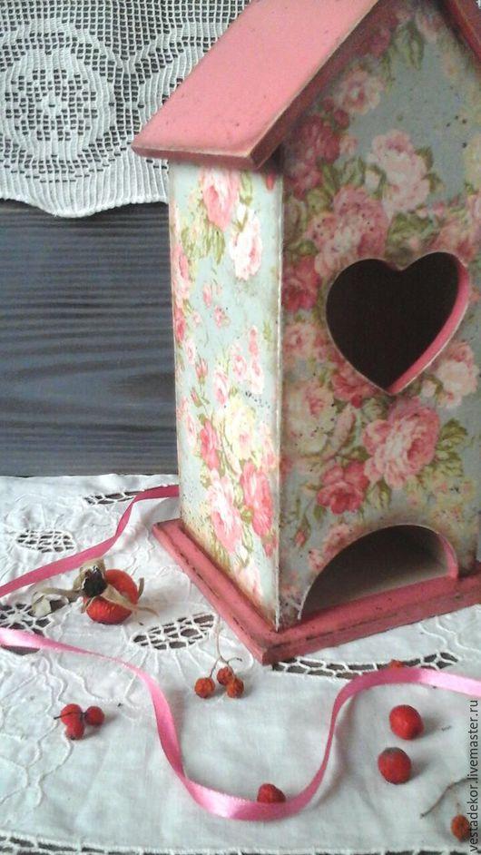 Кухня ручной работы. Ярмарка Мастеров - ручная работа. Купить Чайный домик Винтажные розы в стиле шебби,шебби шик. Handmade.