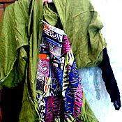 Одежда ручной работы. Ярмарка Мастеров - ручная работа платье-туника САЛЬВАДОР УЕХАЛ. Handmade.