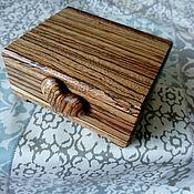 Для дома и интерьера ручной работы. Ярмарка Мастеров - ручная работа Шкатулка Зебрана. Handmade.
