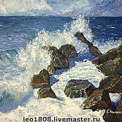 """Картины и панно ручной работы. Ярмарка Мастеров - ручная работа Картина """"Море"""". Handmade."""