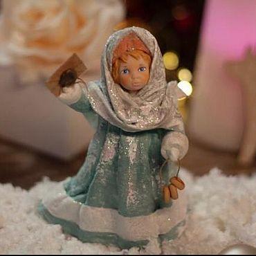 Куклы и игрушки ручной работы. Ярмарка Мастеров - ручная работа Маруся с письмом. Handmade.