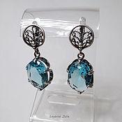 Украшения handmade. Livemaster - original item Earrings Blue heaven. Handmade.