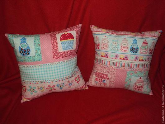Детская ручной работы. Ярмарка Мастеров - ручная работа. Купить Подушки для сластёны. Handmade. Розовый, подушка для подружки