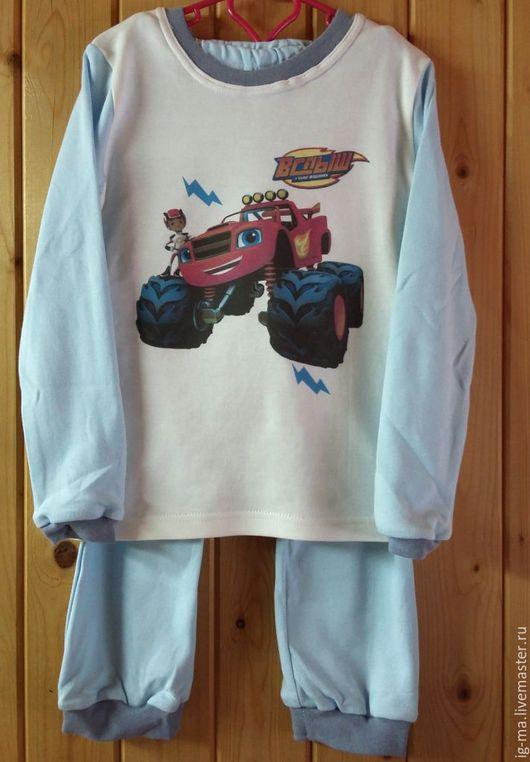 """Одежда для мальчиков, ручной работы. Ярмарка Мастеров - ручная работа. Купить Пижама """"Вспыш"""". Handmade. Пижама, пижама для мальчмка"""