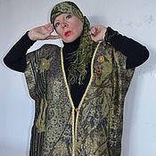 Одежда handmade. Livemaster - original item Cardigan-vest oversize