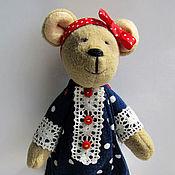 """Куклы и игрушки ручной работы. Ярмарка Мастеров - ручная работа Интерьерна игрушка """"Мишка Машка"""". Handmade."""