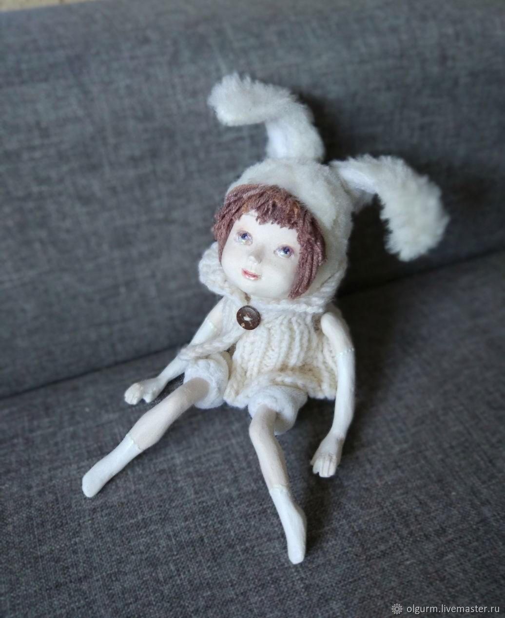 """Авторская кукла  Мечталка """"Снежненький"""", Dolls, St. Petersburg,  Фото №1"""