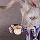 """Сказочные персонажи ручной работы. Мартовский Заяц (из """"Алисы в стране чудес""""). Жанна Бугрова. Ярмарка Мастеров. Льюис Кэрролл"""