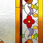 Для дома и интерьера ручной работы. Ярмарка Мастеров - ручная работа Лето lll. Интерьерный витраж Тиффани. Handmade.