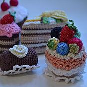 """Куклы и игрушки ручной работы. Ярмарка Мастеров - ручная работа Набор сладостей """"Сладкоешка"""". Handmade."""