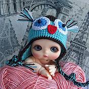 Куклы и игрушки ручной работы. Ярмарка Мастеров - ручная работа Зверо-шапочки для БЖД-кукол. Handmade.