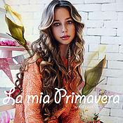 Работы для детей, ручной работы. Ярмарка Мастеров - ручная работа Платье из новой коллекции Primavera. Handmade.