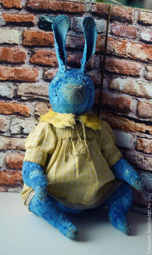 Мишки Тедди ручной работы. Ярмарка Мастеров - ручная работа. Купить Кроля. Handmade. Синий, заяц тедди, тортюр