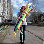 Куклы и игрушки ручной работы. Ярмарка Мастеров - ручная работа Мягкая игрушка Леди Ливнерог  Время приключений (Adventure Time). Handmade.